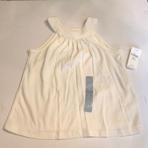 Baby gap off-white top